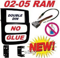 02-05 Ram Kenwood Cd/dvd Bluetooth Usb Double Din Car Stereo Pkg Opt Siriusxm