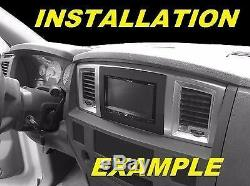 06 07 08 09 10 Dodge Ram + Apple Carplay Stereo Radio Double Install Dash Panel