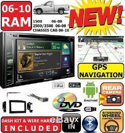 06 07 08 09 10 Dodge Ram Pioneer Navigation Bluetooth CD DVD Bt Car Stereo Radio