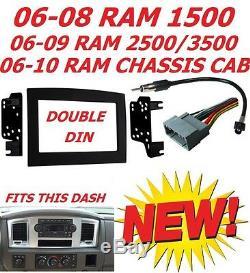 06 07 08 09 10 Ram Touchscreen Bluetooth Usb Double Din Car Stereo Radio