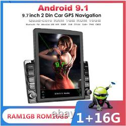 1+16GB Android 9.1 9.7In Vertical Screen Car Stereo Radio Player GPS Navigation