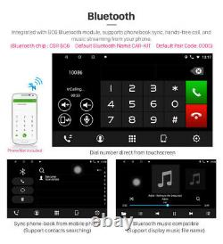 10.1 1DIN Android 8.1 2+32GB Quad Core Car Stereo Radio GPS Nav Player withCamera
