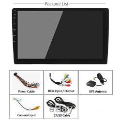 10.1 1Din Android 8.1 Touch Screen Quad-core 2GB32GB Car Stereo Radio GPS Nav
