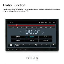 10.1 1Din Android 9.1 Car Stereo Radio GPS Player Wifi BT FM Mirror Link 1+16GB