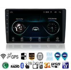 10.1 2Din Android 9.1 4-Core Bluetooth Car GPS Nav Head Unit Stereo Radio Wifi