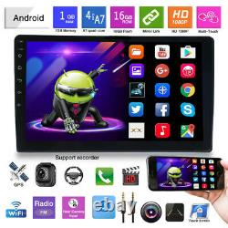 10.1 2Din Android 9.1 Car Stereo Radio HD MP5 Player DSP/EQ GPS Navigation Wifi