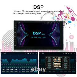 10.1 2Din Android 9.1 Car Stereo Radio MP5 Player DSP/EQ GPS Wifi USB 1GB+16GB