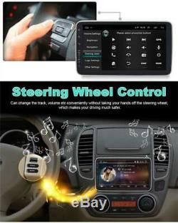 10.1 Android 8.1 1Din Car Stereo GPS Wifi Radio 4-CORE Mirror Link Touch Screen
