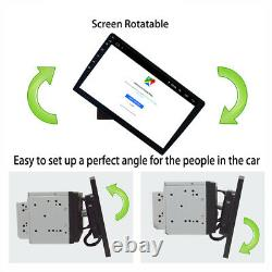 10.1 Android 8.1 Double 2Din Car Stereo Radio Player GPS Wifi OBD2 Mirror Link