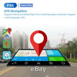 10.1 Android 9.0 Car Stereo Radio Player 1DIN Octa Core GPS Wifi with Back Camera