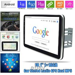 10.1 Android 9.1 Car Stereo GPS Navi MP5 Player 2Din WiFi Quad Core Radio Dash