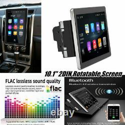10.1 Double 2DIN Android 8.1 Car Stereo Radio GPS Navigation MP5 Player WiFi