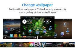 10.1 IPS Android 9.0 2 DIN Car Radio Stereo GPS Head unit OBD DAB AUX 4GB+64GB