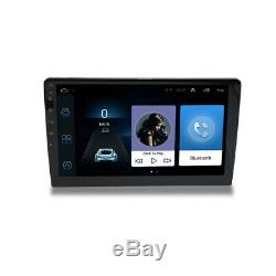 10.1 inch Android 9.1 Double 2 DIN Car Radio Stereo Quad Core GPS Navi Wifi Set