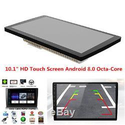 10.1 inch HD Touch Screen Car Bluetooth Stereo Radio GPS Wifi BT DAB Mirror Link