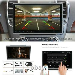 10.12Din Rotatable Android8.1 1080P Car Touch Screen Player USB Radio Bluetooth