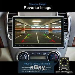 10.12Din Rotated Android 9.1 HD Car Stereo Radio GPS MP5 DVR Wifi 3G 4G BT DAB