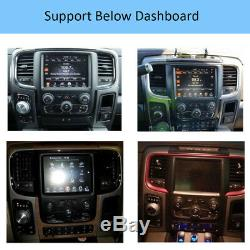 10.4 Tesla Style Car GPS Radio 32GB for Dodge Ram 1500 2500 Tradesman 2013-2019