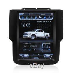 10.4 Tesla Vertical Screen Car Radio GPS Navi For 2017 Dodge Ram 1500 Express