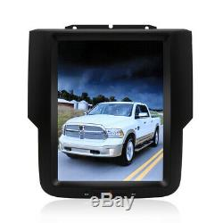 10.4 Tesla Vertical Screen HD Car Radio GPS Dash For 2016 Dodge RAM 1500 Sport