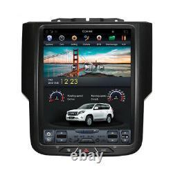 10.4Android Radio Tesla Vertical Car GPS for Dodge Ram 1500 2500 3500 2013-2018