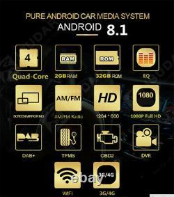 10 ROM 32G Android 8.1 1080P Car Head Unit Stereo GPS FM Radio Single Din WIFI
