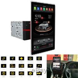 12.8Inch Rotatable Screen Double Din Stereo FM Radio For Toyota Nissan Suzuki