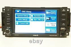 12 Dodge Ram 1500 CD Player Satellite Ready Navigation Radio RHB OEM P05091186AC