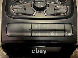 13-2019 DODGE RAM 1500 2500 3500 dash RADIO AC control BEZEL TRIM with vents OEM