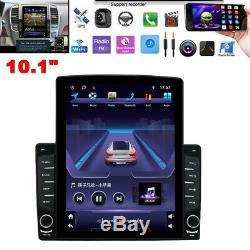 1DIN 10.1 Android 8.1 HD Quad-core 1GB+16GB Car Stereo Radio GPS Nav WiFi/3G/4G