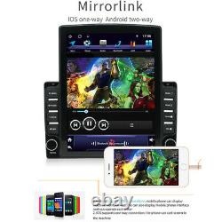 1DIN 10.1 Android 9.1 HD Quad-core 2G+32G WiFi Car Stereo Radio GPS MP5 Player