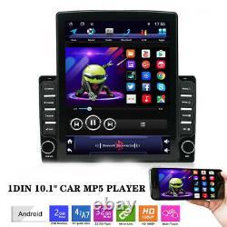 1DIN 10.1 Car Truck Android 9.1 HD Quad-core Universal Stereo Radio GPS Nav