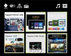 1DIN 10.1in Android 9.1 Quad-core Car Stereo Radio Bluetooth GPS Mirror Link