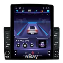 1DIN Rotatable 10.1 Android 8.1 HD Video Player USB FM Car Stereo Radio GPS Nav
