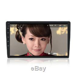 1Din Android 8.1 10.1 HD Bluetooth Car Stereo Radio GPS Wifi Mirror Link Player
