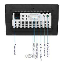 1PC Bluetooth GPS USB FM BT Radio Audio Stereo10.1'' Touch Screen Car MP5 Player