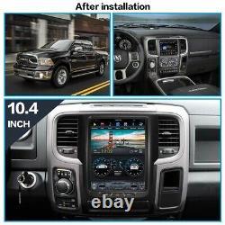 2+32GB Android 8.1 Radio Tesla Vertical Screen Car GPS For Dodge RAM 2014-2019