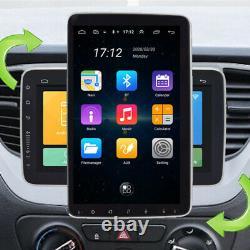 2 Din 10.1 360° Rotation Screen Android 9.1 Car Multimedia Radio GPS Navigation
