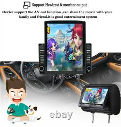 2 Din 9.7In Touch Screen Android 9.1 Car Stereo Radio GPS Navigation WIFI BT FM