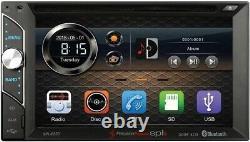 2002-2005 Dodge Ram Cd/dvd Bluetooth Usb/sd Aux Eq Touchscreen Car Stereo Radio
