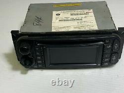 2004 2008 Jeep Dodge Chrysler Audio Radio Navigation Screen P56038629AH OEM