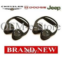 2004-2015 Dodge Grand Caravan Durango VES Entertainment Wireless Headphones TWO