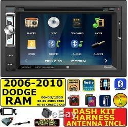 2006-10 Dodge Ram 1500 2500 3500 Cd/dvd Bluetooth Usb Aux Car Stereo Radio Pkg