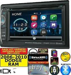 2006-2010 Dodge Ram Bluetooth Cd/dvd Usb Sd Aux Siriusxm Car Radio Stereo