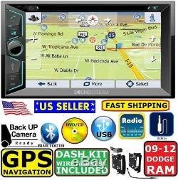 2009 2012 DODGE RAM GPS Navigation SYSTEM Bluetooth Dvd Video car Radio Stereo