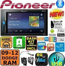 2009-2012 DODGE RAM TRUCK BLUETOOTH TOUCHSCREEN USB AUX Car Radio Stereo