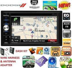 2009-2012 DODGE RAM TRUCK Car Radio Stereo GPS NAVIGATION SYSTEM BLUETOOTH BT