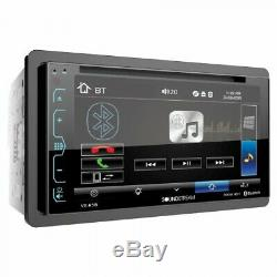 2009-2012 Dodge Ram Double Din Dvd/bluetooth Dash Kit Car Stereo Radio Pkg