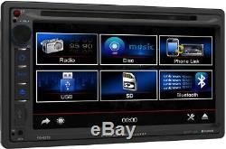 2009-2012 Dodge Ram Truck DVD Bluetooth Touchscreen Usb CD Aux Car Radio Stereo