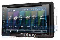 2013 2014 2015 2016 Ram DVD CD Touchscreen Bluetooth Double Din Car Stereo Radio